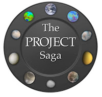 The Project Saga Logo