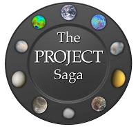 The Project Saga Logo